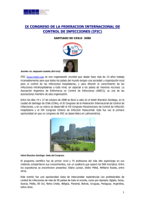 Congreso IFIC en Chile
