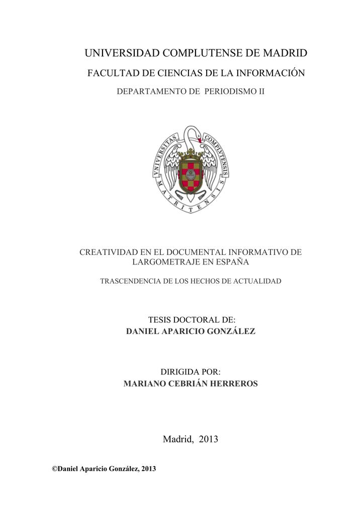 48d02de57c CREATIVIDAD EN EL DOCUMENTAL INFORMATIVO DE