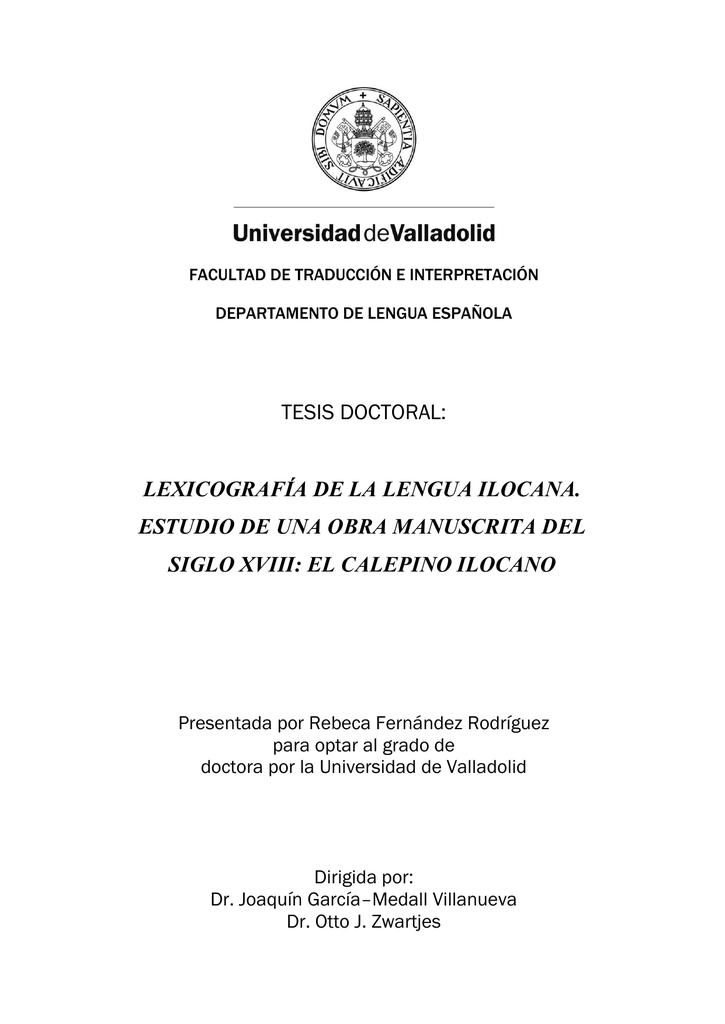 tesis doctoral