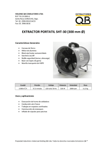 EXTRACTOR PORTATIL SHT