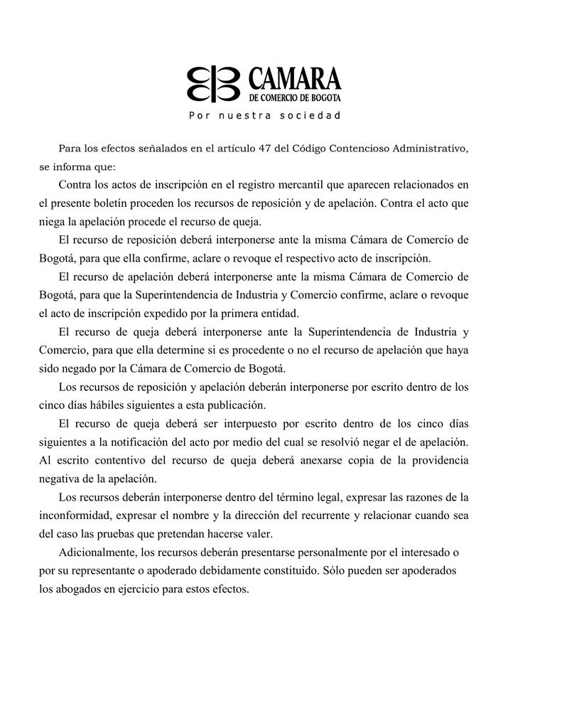 Contra los actos de inscripción en el registro mercantil que
