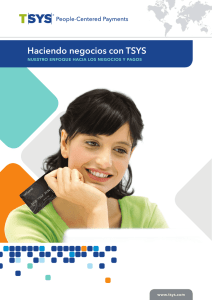 Brochure: TSYS Corporate Overview (Spanish)