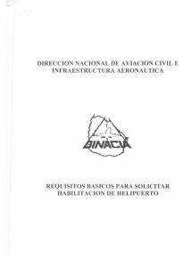 direccion nacional de aviacion civil e infraestructura