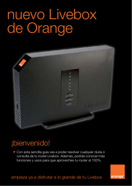 nuevo Livebox de Orange