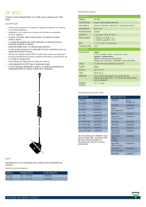 GF 402/... - 2 dB Mobile GlassFix® Antenna for the 450 MHz Band