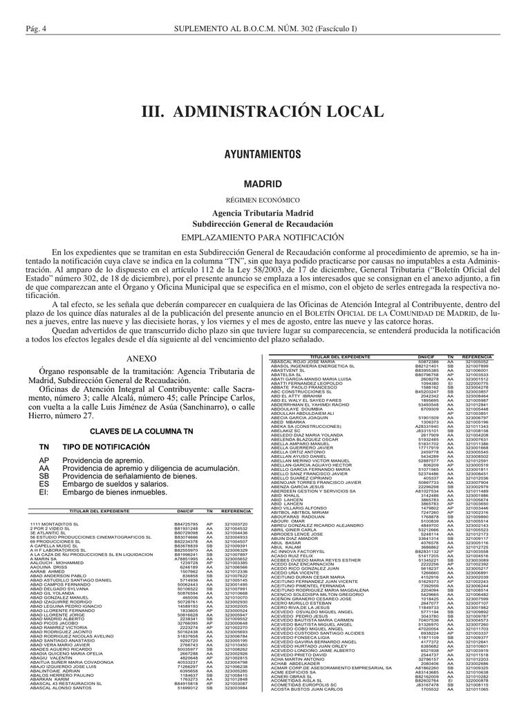 2332 Kbs - Sede Electrónica del Boletin Oficial de la Comunidad de