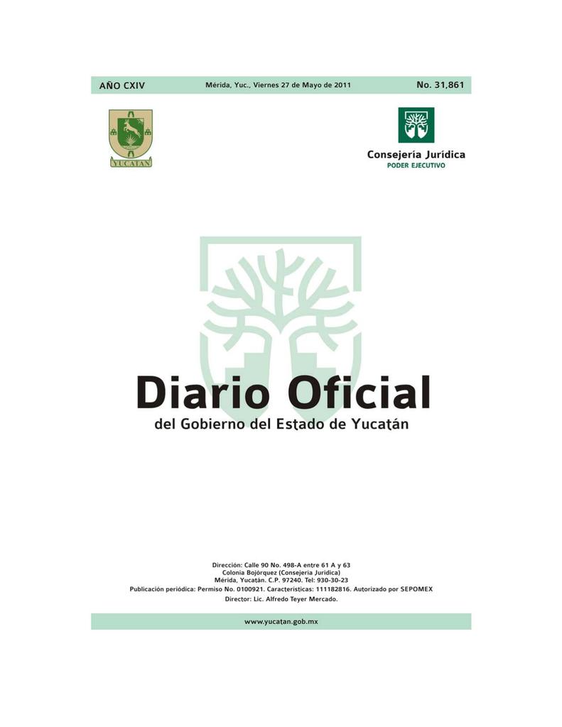 Abrir PDF Gobierno del Estado de Yucatn