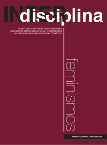 INTERdisciplina Vol. 4 No. 8 | enero-abril 2016