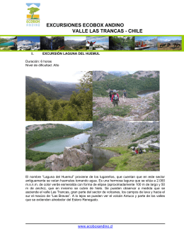 Excursiones Ecobox Andino 2008