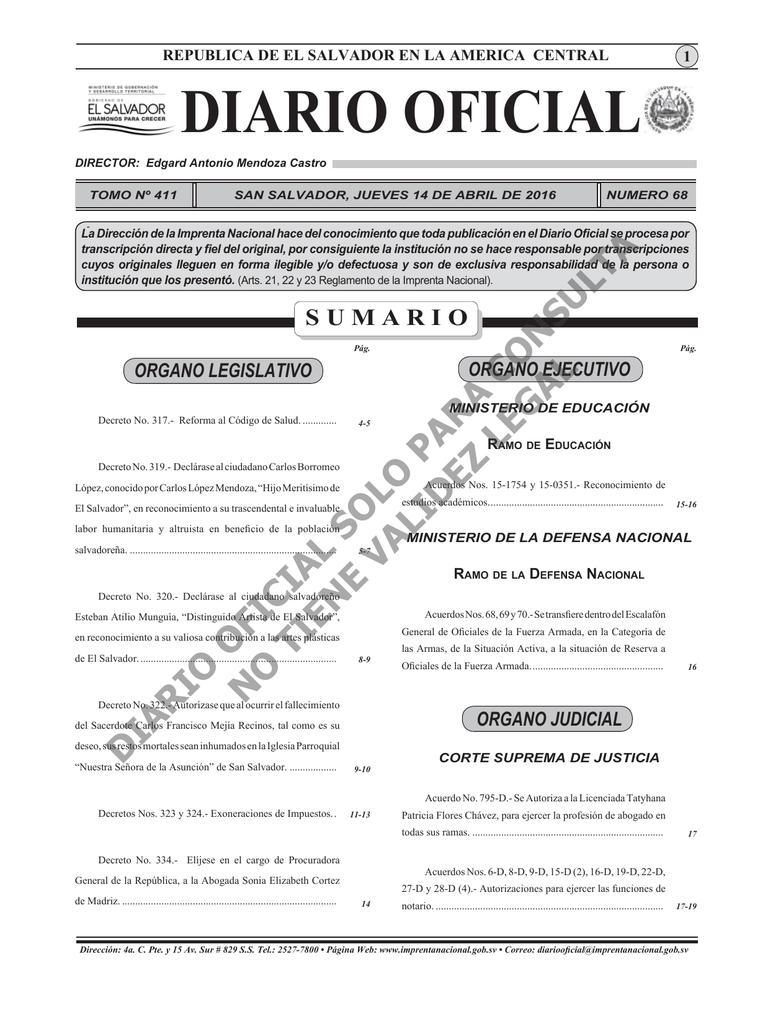 Diario Oficial 14 de Abril 2016.indd