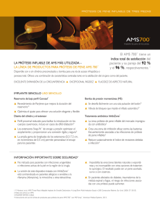 AMS 700™ Physician Brochure - Spanish