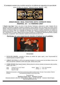 jesus eguia real fighting arts–combate real madrid, 10