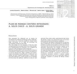 plan de manejo costero integrado: a. solís chico – a. solís grande