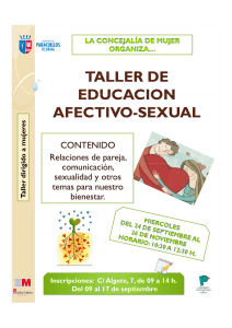 taller de educacion afectivo-sexual