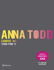 Landon 1. Todo por ti (Spanish Edition)