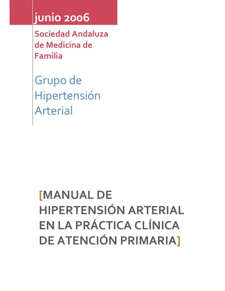 Algoritmo de pautas de hipertensión jama jnc 8
