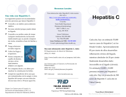 Hepatitis C - Tulsa Health Department