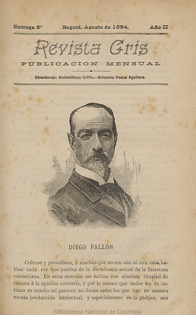 diego fallon - Biblioteca Nacional de Colombia