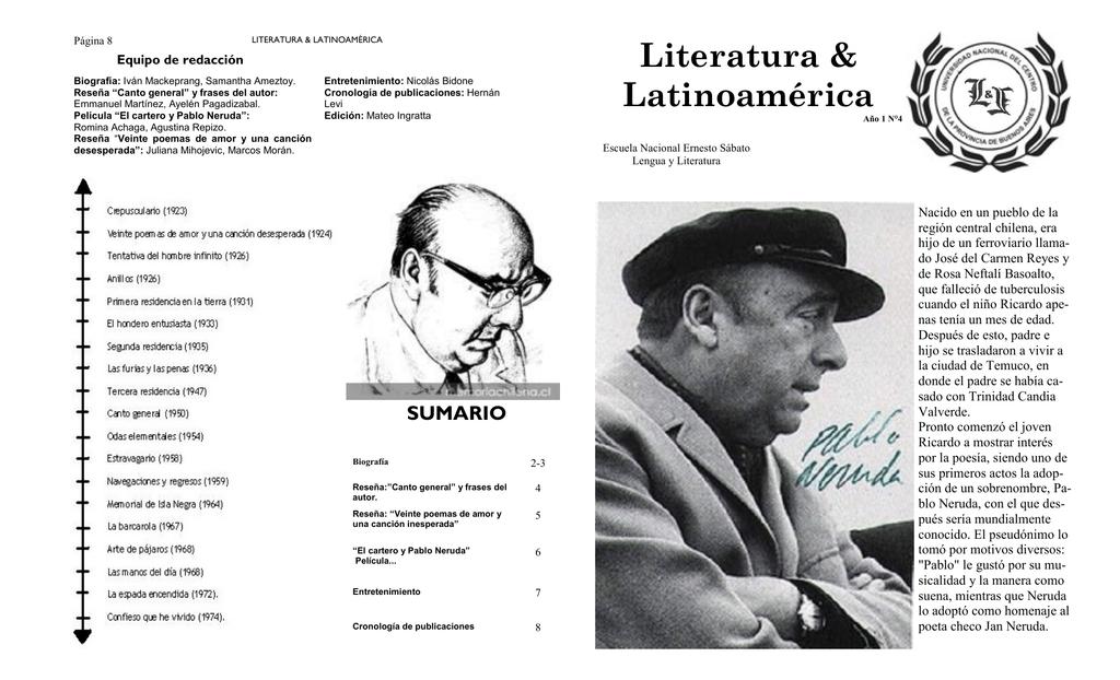 Publicación 4 Escuela Nacional Ernesto Sabato