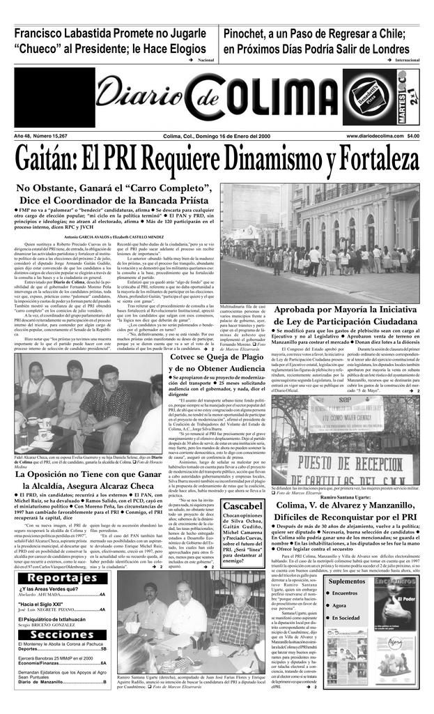 """0e2f12f6323f Francisco Labastida Promete no Jugarle """"Chueco"""" al Presidente  le Hace  Elogios è Pinochet"""