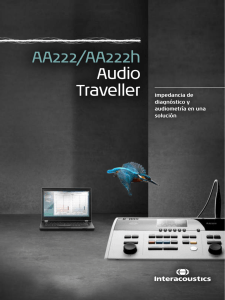 AA222/AA222h Audio
