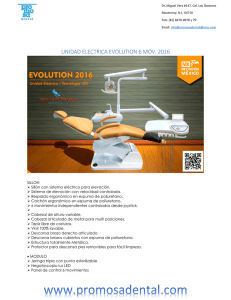 unidad electrica evolution 6 mov. 2016