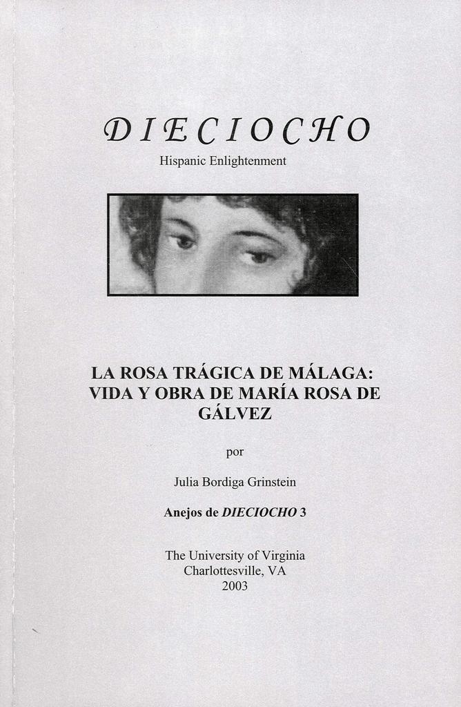 Pdf La Rosa Trágica De Málaga Vida Y Obra De María Rosa De