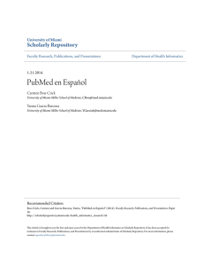 PubMed - Scholarly Repository