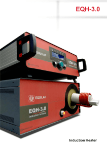 Equilab Heater Induction EQH-3