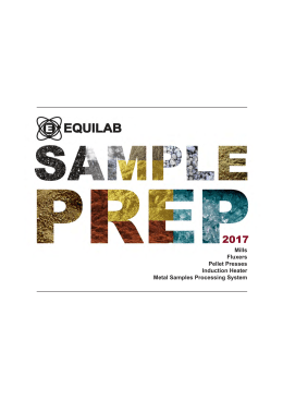 Equilab Sample Preparation 2017