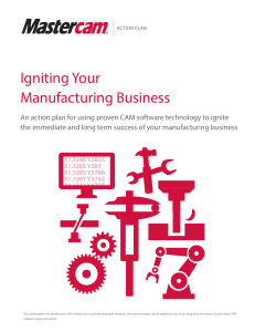 Manufacturing Action Plan - English
