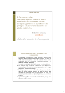 Farmacognosia GB 2