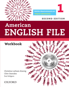 AEF 1 Workbook