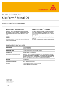 SikaForm Metal 99