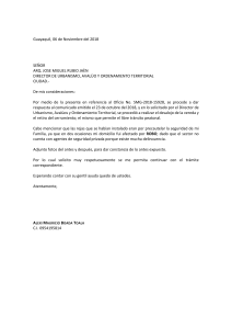 Carta Municipio 2