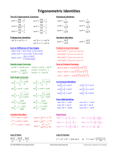Trigonometric-Identities
