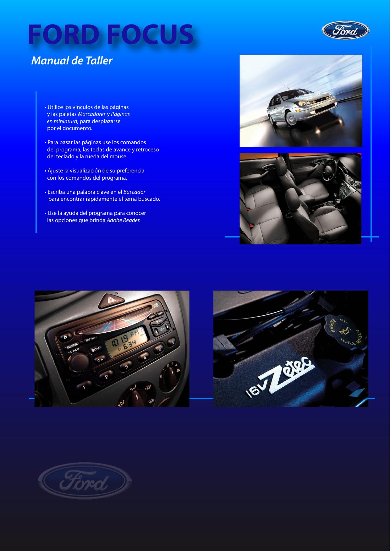 dos bolsillos tirante termina Pista Exterior Inferior Derecho /& Izquierdo Ford Focus C-Max 03