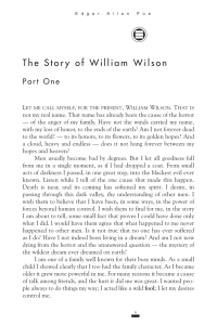 the story of william wilson