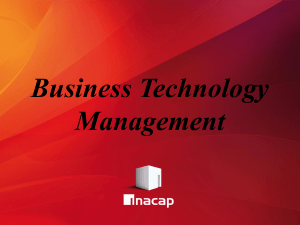 Business Technology Management