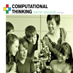 Pensamiento Computacional: teacher-resources 2ed