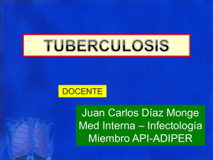 CLASE TUBERCULOSIS 2019