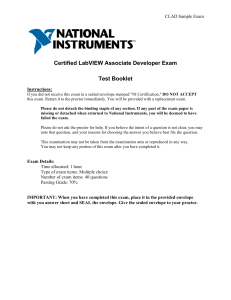 Certificacion LabVIEW in english-clad sample exam2