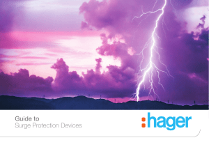 Hager Guide to Surge Protection