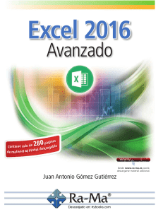 Excel 2016 Avanzado compressed