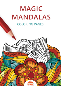 Magic Mandalac Coloring Pages-PDF