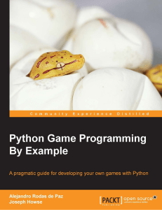 9781785281532-PYTHON GAME PROGRAMMING BY EXAMPLE
