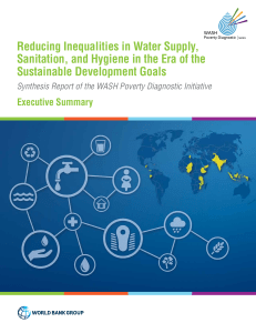 Reducing inequalities in Water Supplu, Sanitation, and Hygirnr in the Era of the Sustainable Development Goals