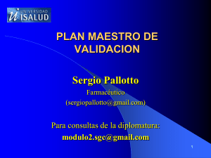 Plan Maestro de Validacion (2) POWER POINT