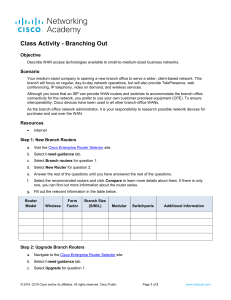 1.0.1.2 Class Activity - Branching Out