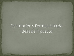 V°B° descrip formulac ideas proyecto